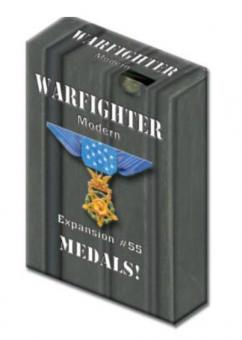 Warfighter Modern, Exp 55 Modern Daytime or Shadow War Medals