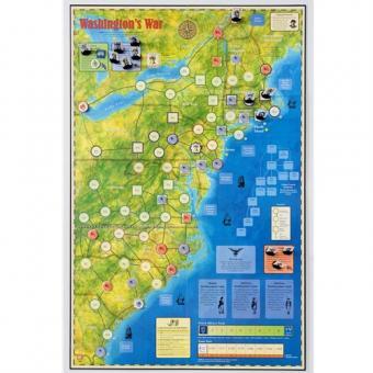 Washington's War, Mounted Map