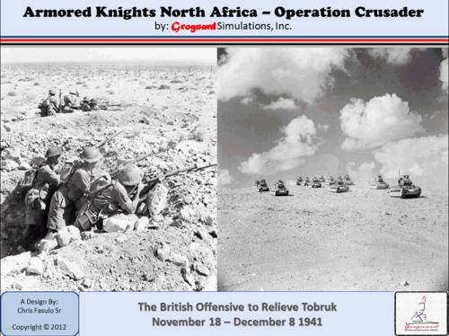Armored Knights North Afrika - Operation Crusader
