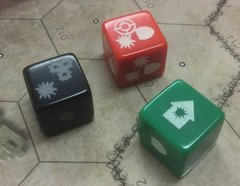 Armageddon War, Custom Dice (3)