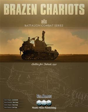 Brazen Chariots: Battles for Tobruk, 1941 (BCS)