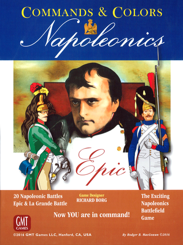 Commands & Colors: Napoleonics Exp 6: EPIC Napoleonics