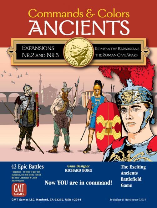 Commands & Colors: Ancients Exp. Combo 2 & 3
