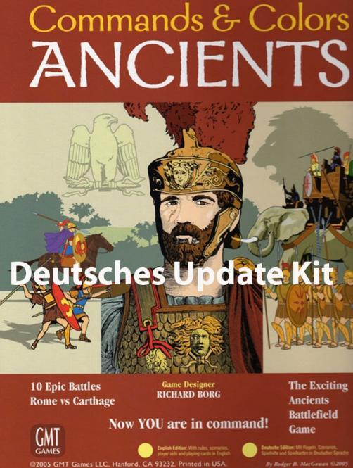 Commands & Colors: Ancients, Update Kit Deutsch