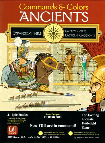 Commands & Colors: Ancients Exp1 Greece & East. K