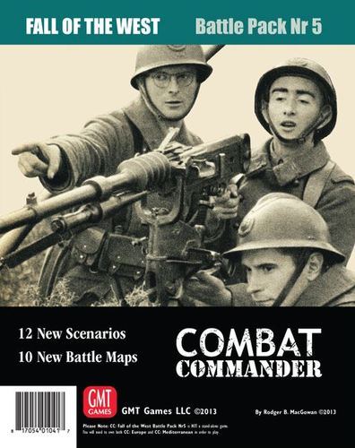 Combat Commander Battle Pack 5: Fall of the West, 2nd Printing