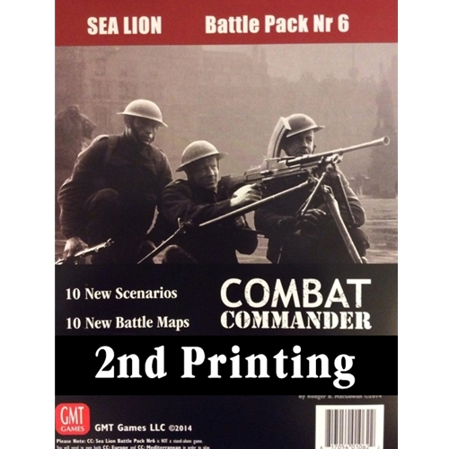 Combat Commander Battle Pack 6: Sea Lion, 2nd Printing