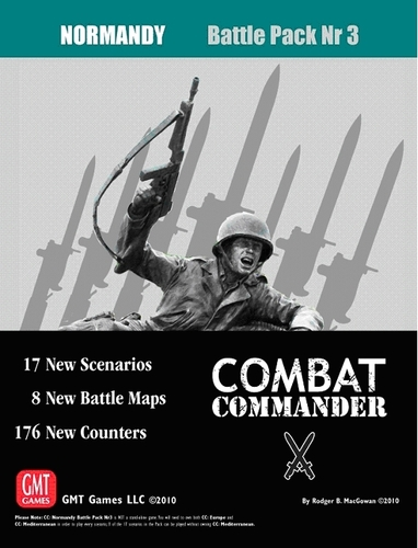 Combat Commander Battle Pack 3: Normandy, 2nd Printing