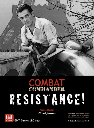 Combat Commander: Resistance!, 2nd Printing