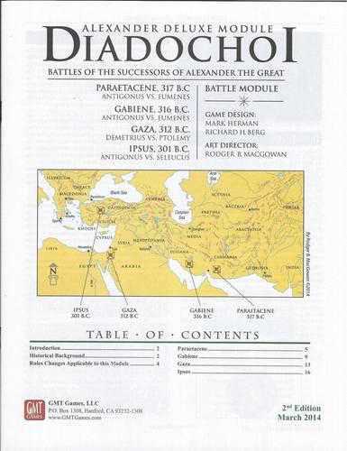 Diadochi, Reprint