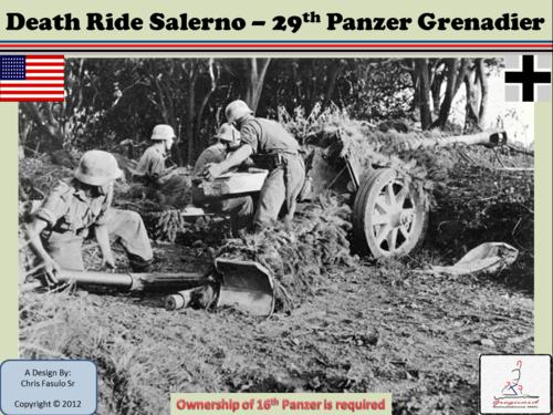 Death Ride Salerno  29th Pz Grenadier