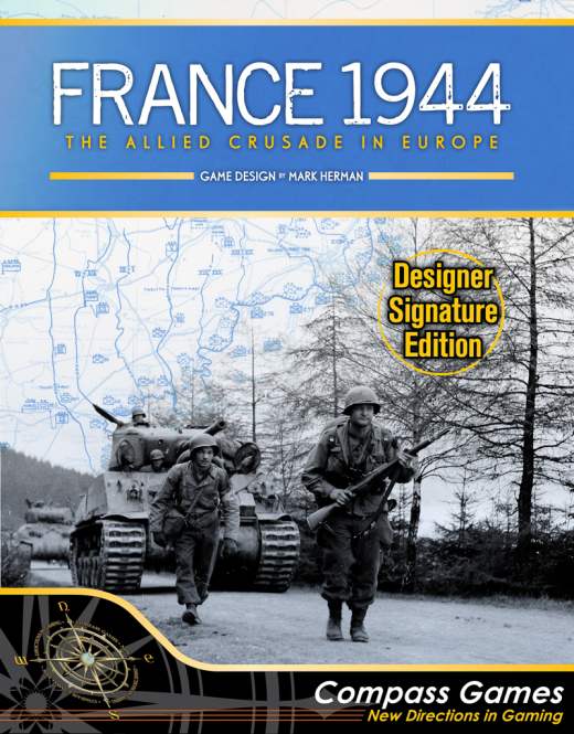 France 1944, The Allied Crusade in Europe, Designer Signature Edition