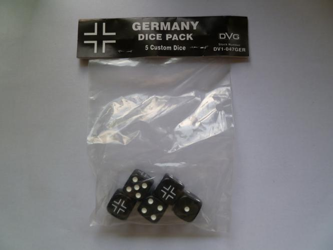 Germany Six-sided Dice	WWII Dice