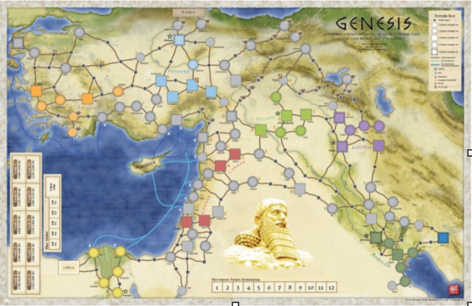 Genesis, Mounted Mapboard