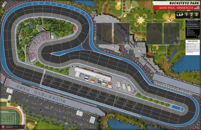 Grand Prix, Track Set