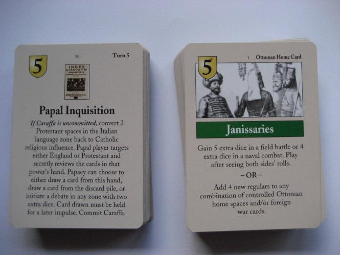 Here I Stand: Set of English Cards (1st Ed)
