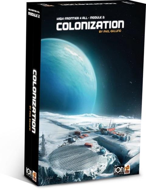 High Frontier 4 MODULE 2 - COLONIZATION