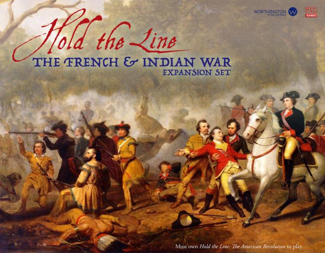 Hold the Line: French & Indian War Exp. 2nd Mini ed