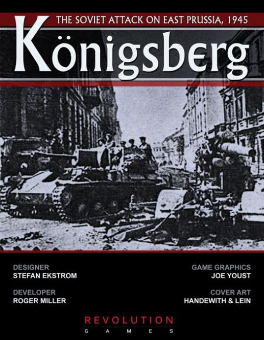 Konigsberg: The Soviet Attack on East Prussia, 1945