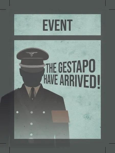La Résistance, Gestapo Cards