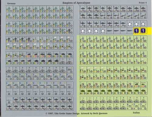 Morsecode Countersheet 1 (Germany)
