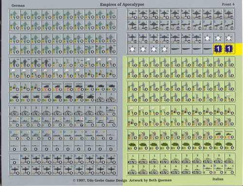 Morsecode Countersheet 1 (Germany)