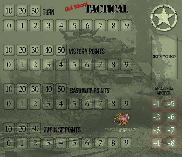 Old School Tactical V2 Neopren Mat