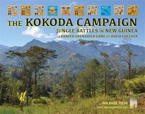 Panzer Grenadier: The Kokoda Campaign (boxless)