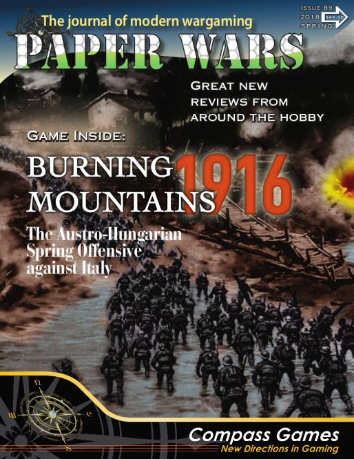 Paper Wars 89 Burning Mountains