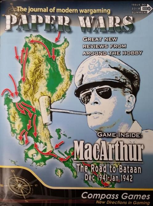 Paper Wars 90 MacArthur: The Road to Bataan