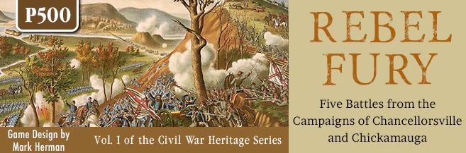 Rebel Fury: Chancellorsville and Chickamauga