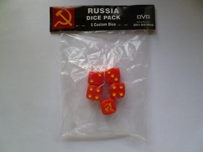 Russia Six-sided DiceWWII Dice