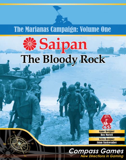 Saipan- Bloody Rock