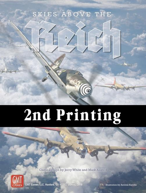 Skies Above the Reich, 2nd Printing