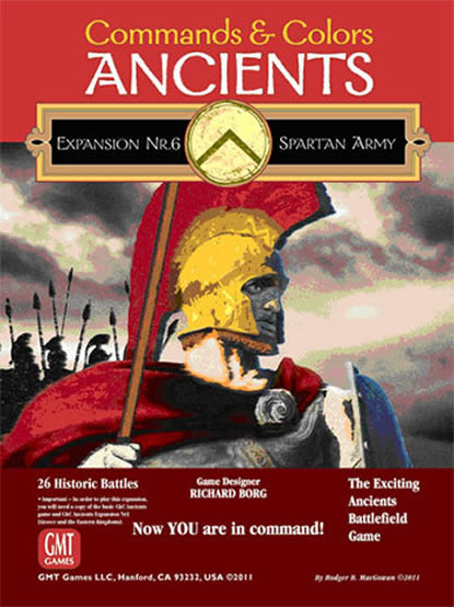 Commands & Colors: Ancients Exp6 Spartan Army, 3rd Printing