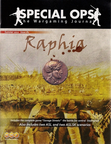 Special Ops # 1, Raphia
