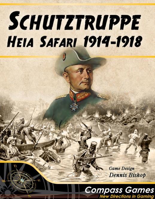 Schutztruppe, Heia Safari, 1914-18
