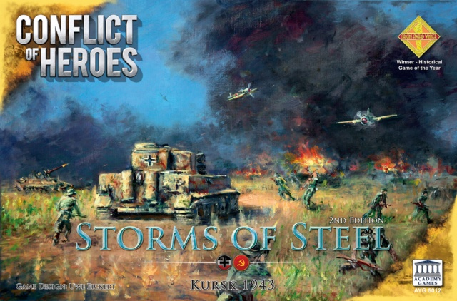 Conflict of Heroes: Storms of Steel Kursk 1943 2nd Edition