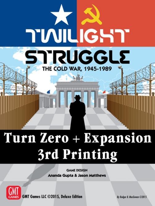 Twilight Struggle Turn Zero and Promo Packs, 3rd Printing
