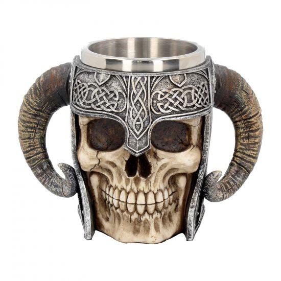 Viking Skull Tankard 19 cm