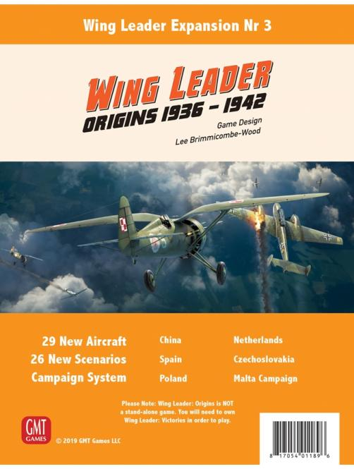 Wing Leader: Origins 1936-42