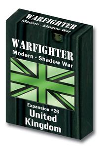 Warfighter Modern, Shadow War Exp 26 Shadow War UK Soldiers