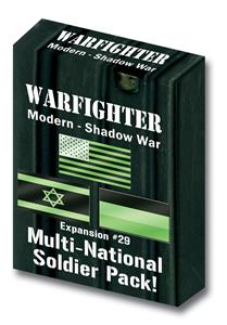 Warfighter Shadow War, Exp 29 Shadow War Multi national soldiers