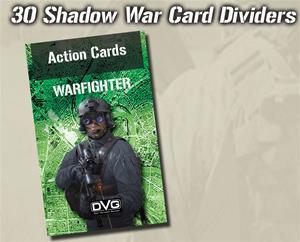 Warfighter Shadow War, Exp 35 Shadow War Card Dividers