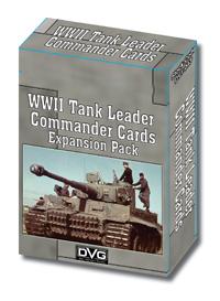 Tank Leader Series Enemy Commander Cards