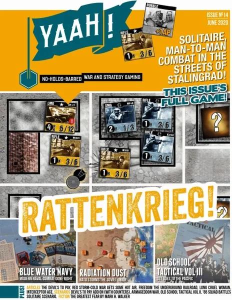 Yaah! Magazine 14, Rattenkrieg