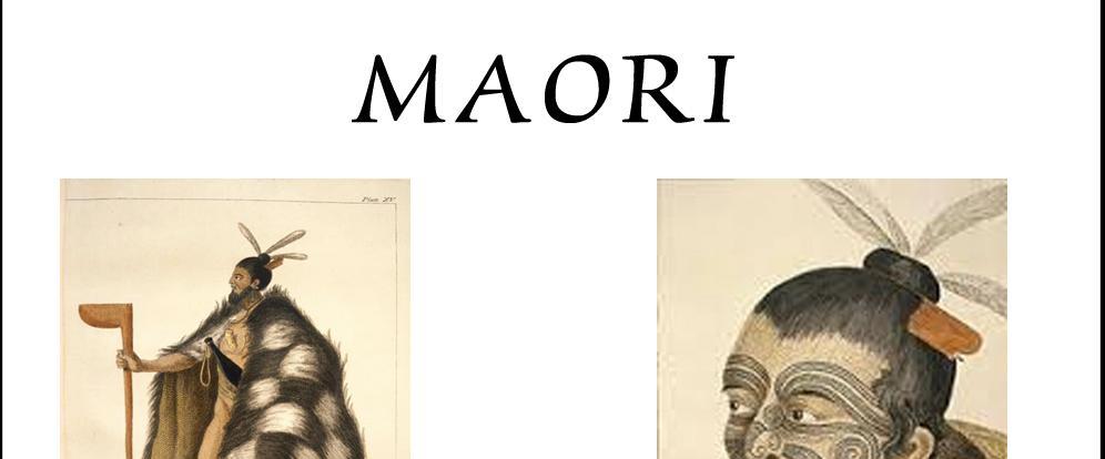 Banner Maori
